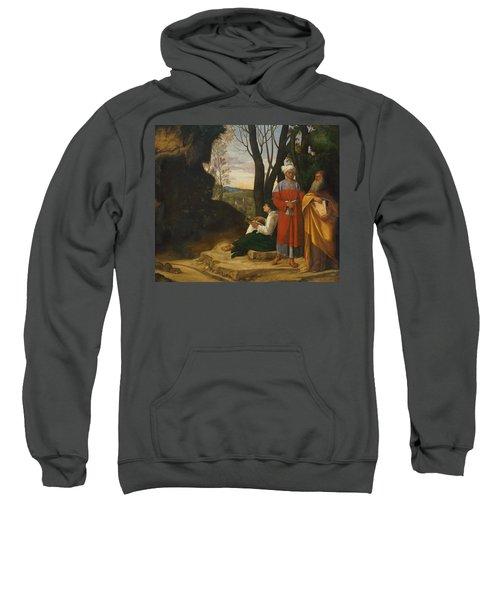 Three Philosophers Sweatshirt