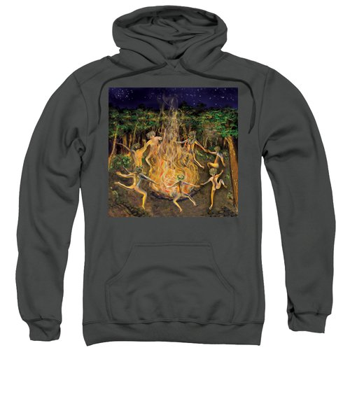Dancing Naked In The Forest Cd Cover Sweatshirt