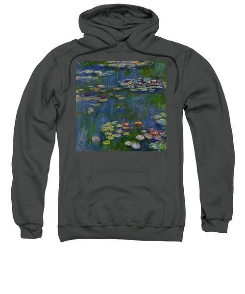 Water Lilies, 1916 Sweatshirt