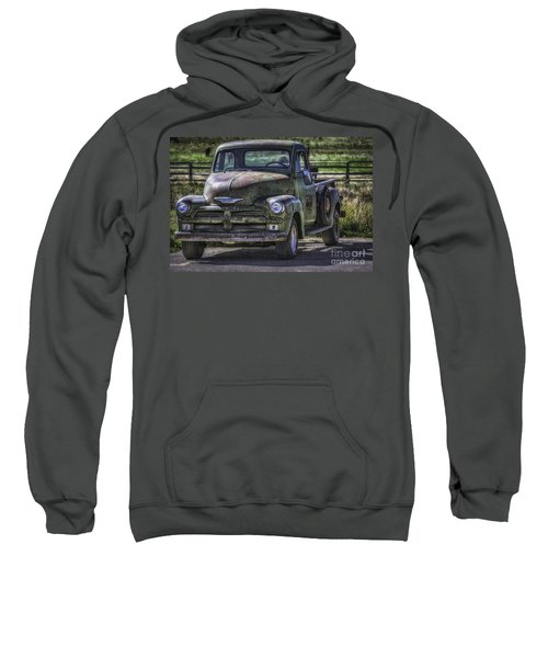 54 Chevy 3600 Stepside Sweatshirt