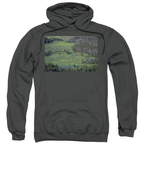 Scenery Rocky Mountain Np Co Sweatshirt