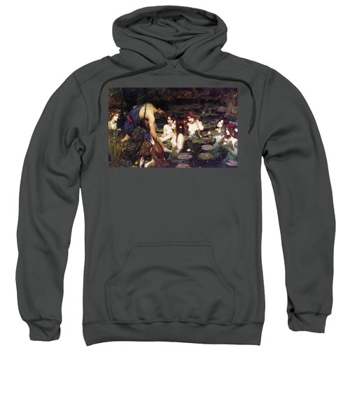 Hylas And The Nymphs Sweatshirt