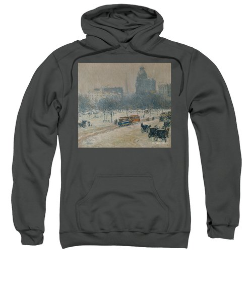 Winter In Union Square Sweatshirt