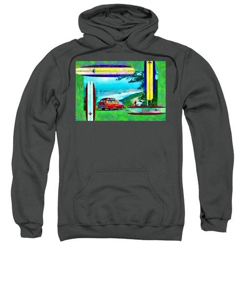 60's Surfing Sweatshirt