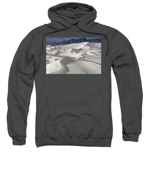 Sweatshirt featuring the photograph Dumont Dunes 8 by Jim Thompson
