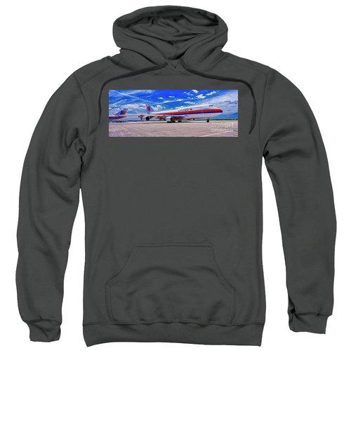 747 Ua White Livery   Sweatshirt