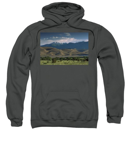 750 Foot Tall Sand Dunes Rise Sweatshirt