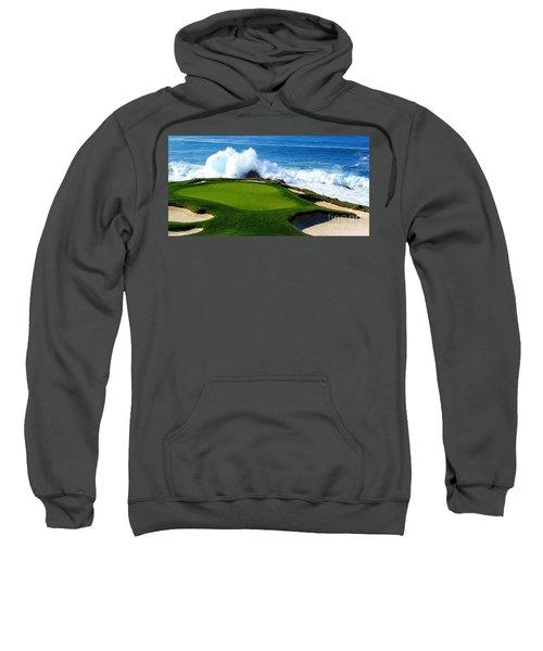 7th Hole - Pebble Beach  Sweatshirt