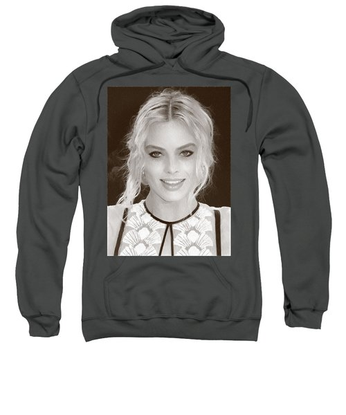Actress Margot Robbie Sweatshirt by Best Actors