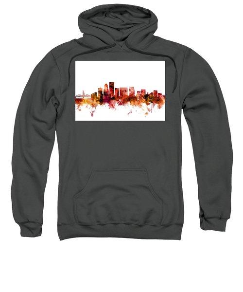 Portland Oregon Skyline Sweatshirt