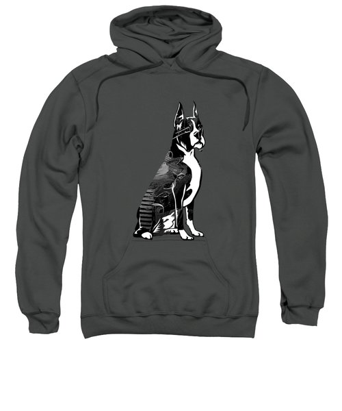 Boxer Collection Sweatshirt by Marvin Blaine