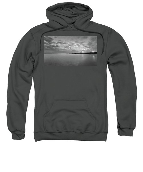 A Beach And A Bunch Of Boats Sweatshirt