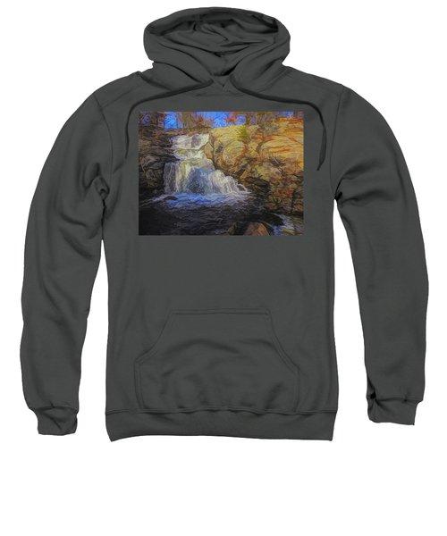 A Beautiful Connecticut Waterfall. Sweatshirt