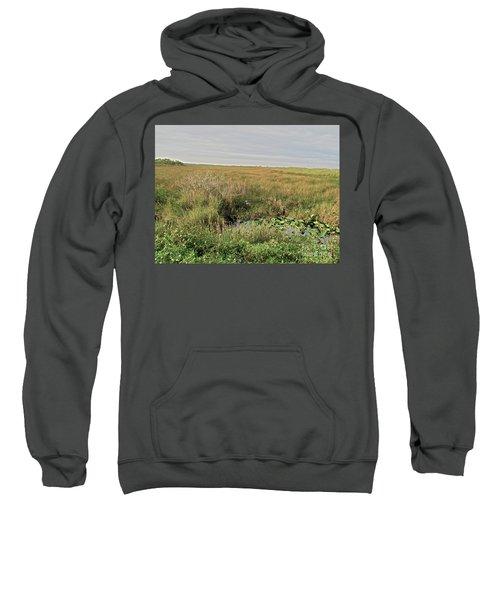 A Blue Heron Among The Glades Sweatshirt