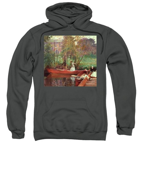 A Boating Party  Sweatshirt