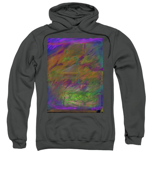 A Brush With The Edge Sweatshirt