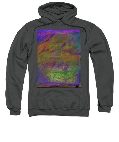 A Brush With The Edge Sweatshirt