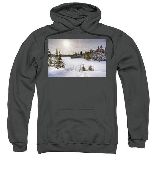 A Cold Algonquin Winters Days  Sweatshirt
