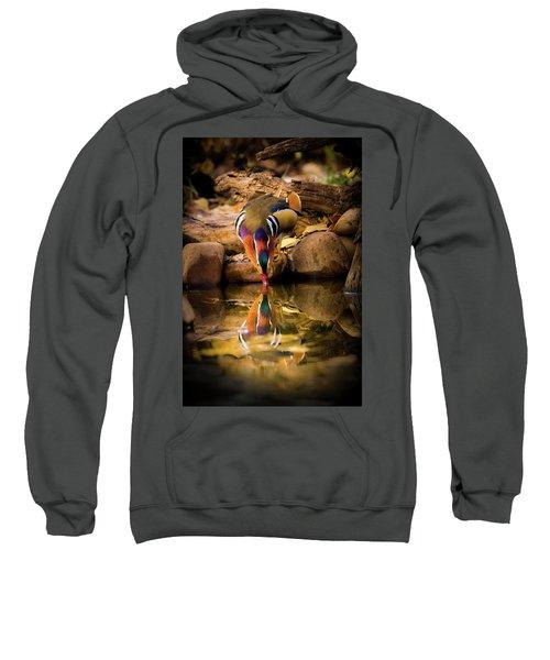 A Cold Drink - Mandarin Drake Sweatshirt