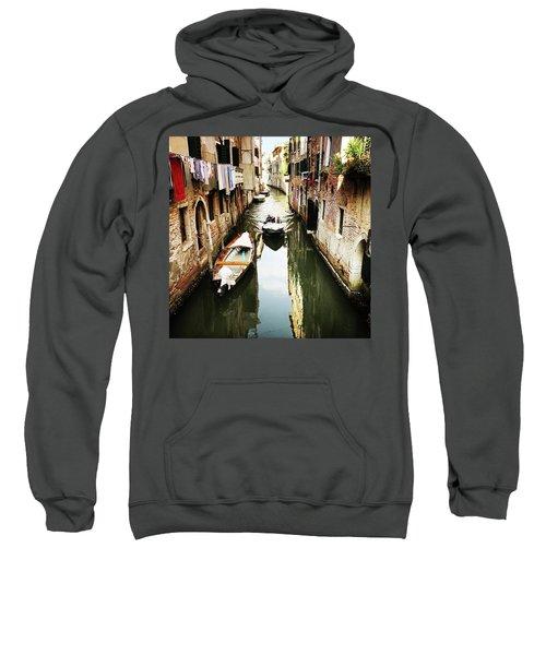 A Corner In Venice Sweatshirt