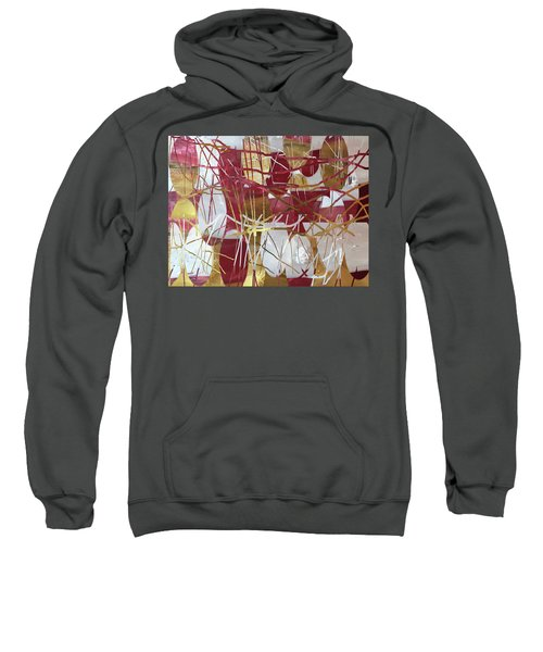 A Dance Of Rubies And Old Gold Sweatshirt