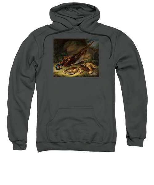 A Dead Pheasant Sweatshirt by MotionAge Designs