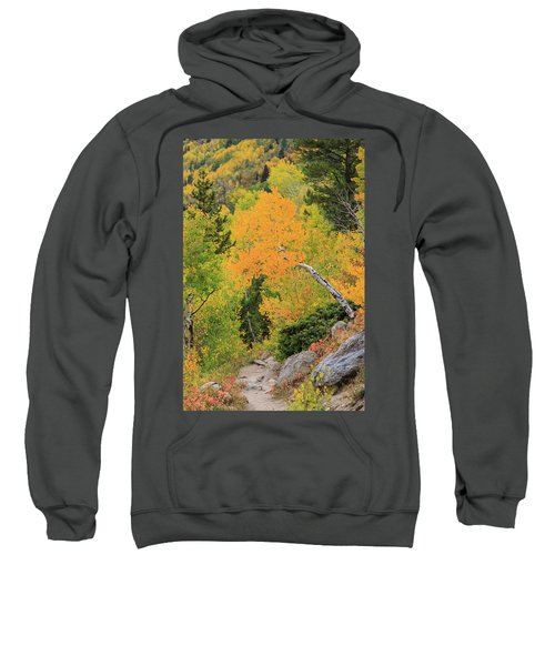 Sweatshirt featuring the photograph Yellow Drop by David Chandler