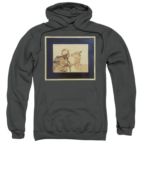 A Door To The Andean Heart Sweatshirt