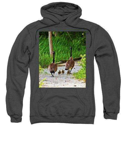 A Family Stroll Sweatshirt