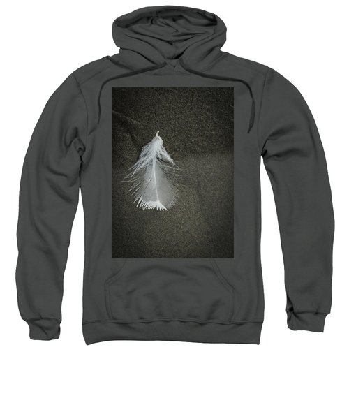 A Feather At The Edge Of The Water Sweatshirt