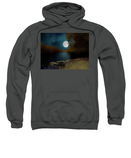 A Full Moon On A River. Sweatshirt