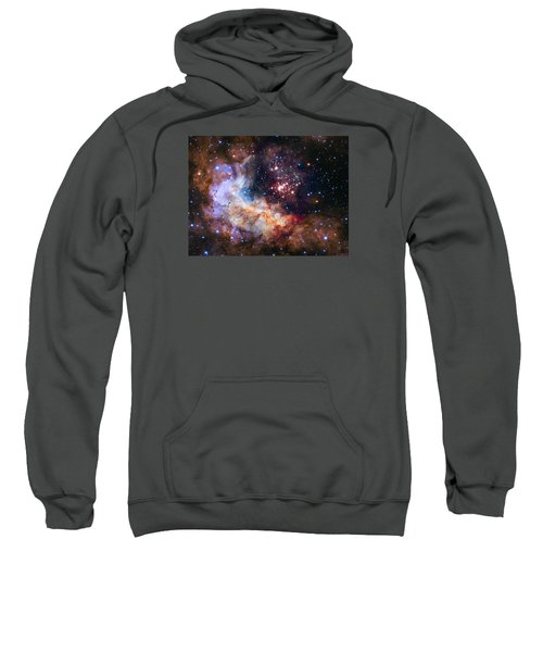 a giant cluster of about 3,000 stars called Westerlund Sweatshirt