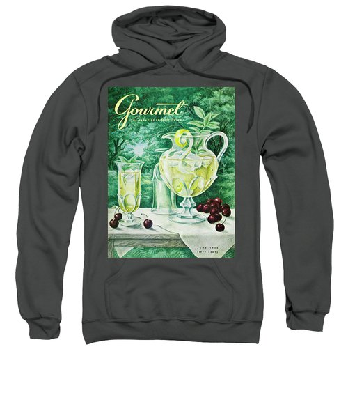 A Gourmet Cover Of Glassware Sweatshirt
