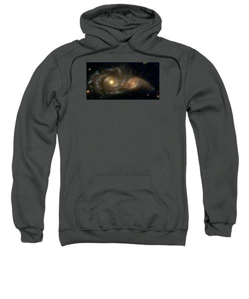 A Grazing Encounter Between Two Spiral Galaxies Sweatshirt