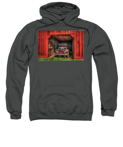 A Hiding Place 1949 Ford Pickup Truck Sweatshirt