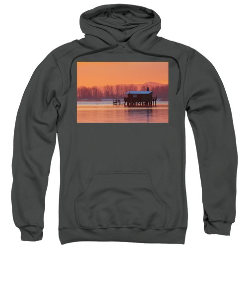 A Hut On The Water Sweatshirt
