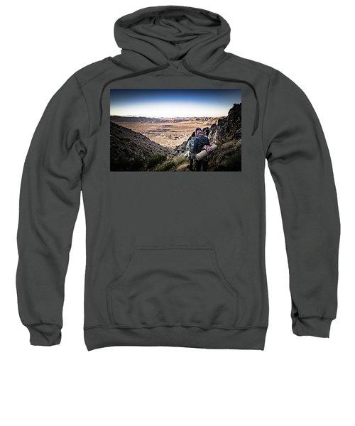 A Long Walk Through Joshua Tree Sweatshirt