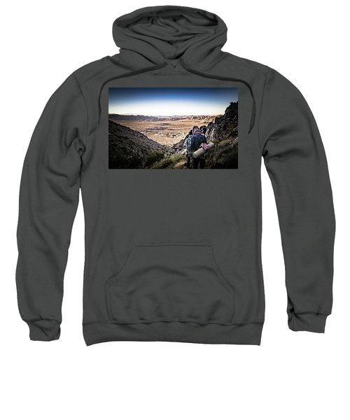 A Long Walk Through Joshua Tree Sweatshirt