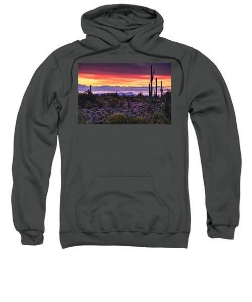 A Magical Desert Morning  Sweatshirt