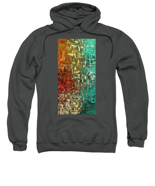 A Moment In Time - Abstract Art Sweatshirt
