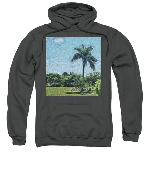A Monet Palm Sweatshirt