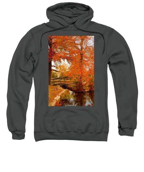 A Morning In Autumn - Lake Carasaljo Sweatshirt