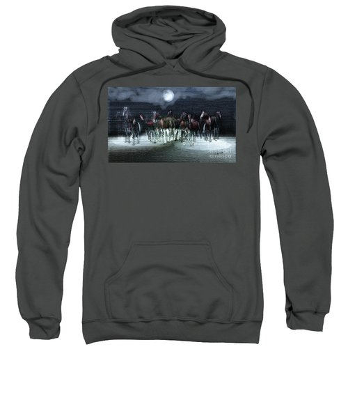 A Night Of Wild Horses Sweatshirt