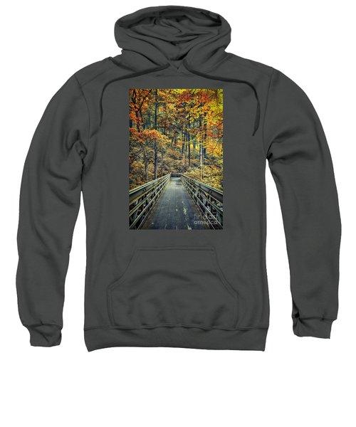 A Path Into Autumn Sweatshirt