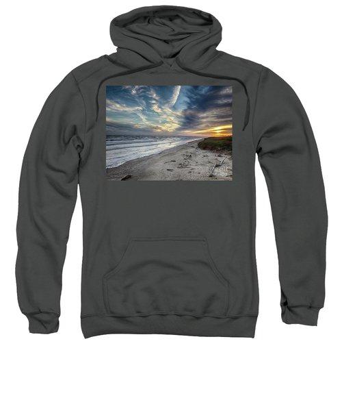 A Peaceful Beach Sunset Sweatshirt