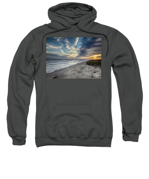 A Peaceful Beach Sunset Sweatshirt