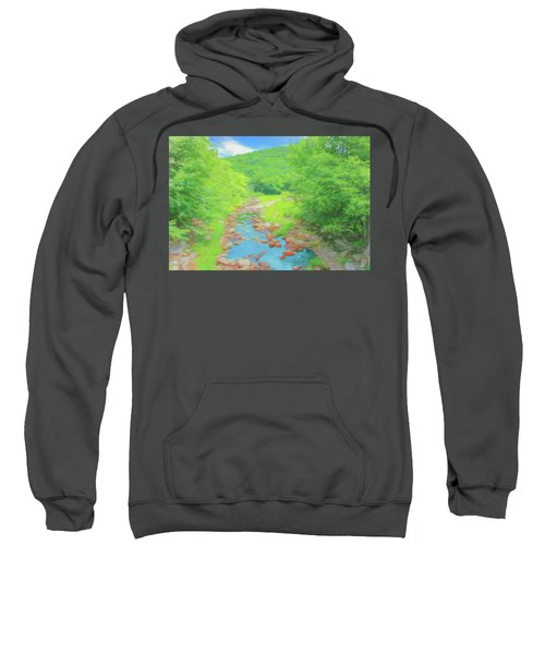 A Peaceful Summer Day In Southern Vermont. Sweatshirt