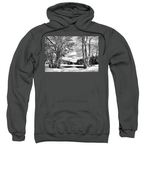 A Peek At Winter Sweatshirt