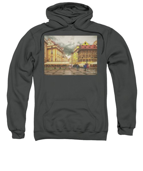 A Rainy Day In Prague Sweatshirt