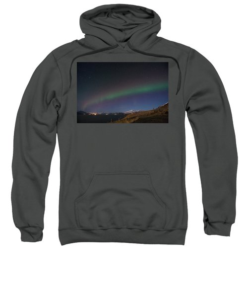A Ribbon Of Northern Lights Sweatshirt